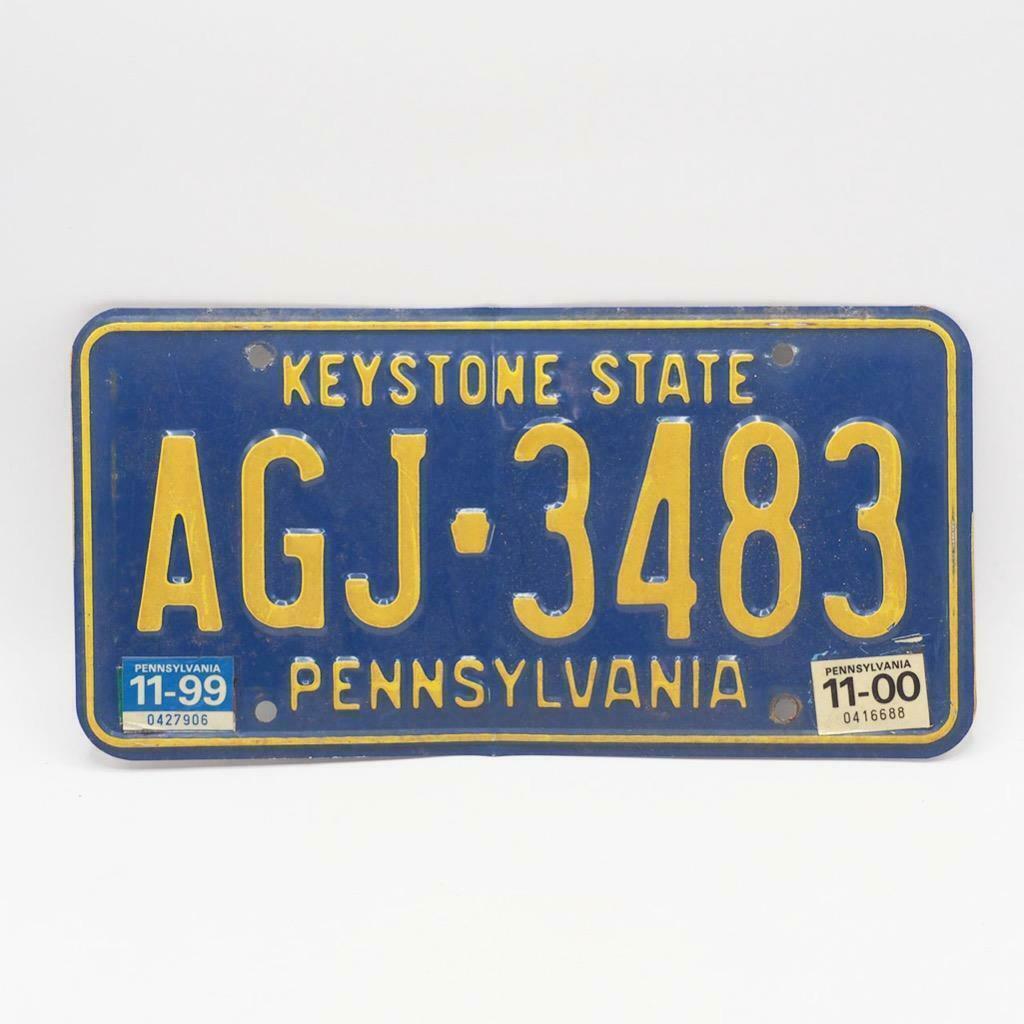Vintage Pennsylvania Keystone State Car Vehicle License Plate