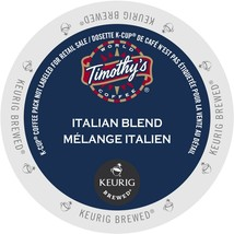 Timothy's Italian Blend Coffee, 96 count Keurig K cups, FREE SHIPPING  - $66.99