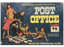 Vintage Post Office Game (1968) Dented Box - $128.65