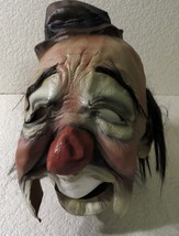 Paper Magic Group Clown Mask with Open Mouth Chin Mask Area Scary Halloween - $26.18