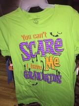 You Can't SCARE ME I have Grandkids  fun junior medium    t shirt    fb - $1.66