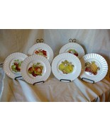 "Royal Tuscan Fruit Set of 6 Salad Plates 8 3/8"" - $37.79"