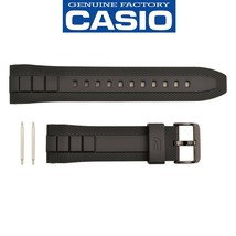 Genuine CASIO G-SHOCK Watch Band Strap EFR-545SB-7BV Original Black Rubber - $56.95