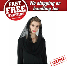 Catholic Mantilla Veil Cathedrals Church Chapel Lace Veil Easter Latin M... - $26.80