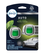 Febreze Car Air Freshener Vent Clip, Fresh Leaves, Pack of 2 - $10.95