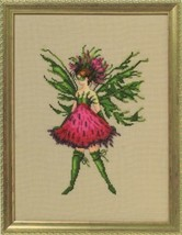 "NC247 ""THISTLE"" CHART, & EMBELLISHMENT PACK  Poison Pixies by Nora Corbett - $29.69"