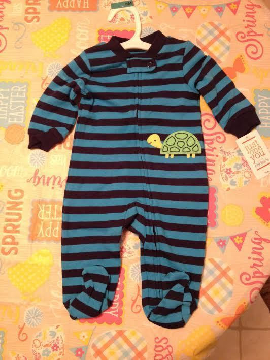 f668c6e95 Just One You Carter s Footed Turtle Pajamas and 23 similar items