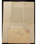 WW1 Letter to Brother 1917 Ft Dix 308th Field Artillery Battery Making S... - $8.90