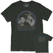 Official Wham Andrew George America Tour 1985 Concert Vintage Unisex T-s... - $37.99