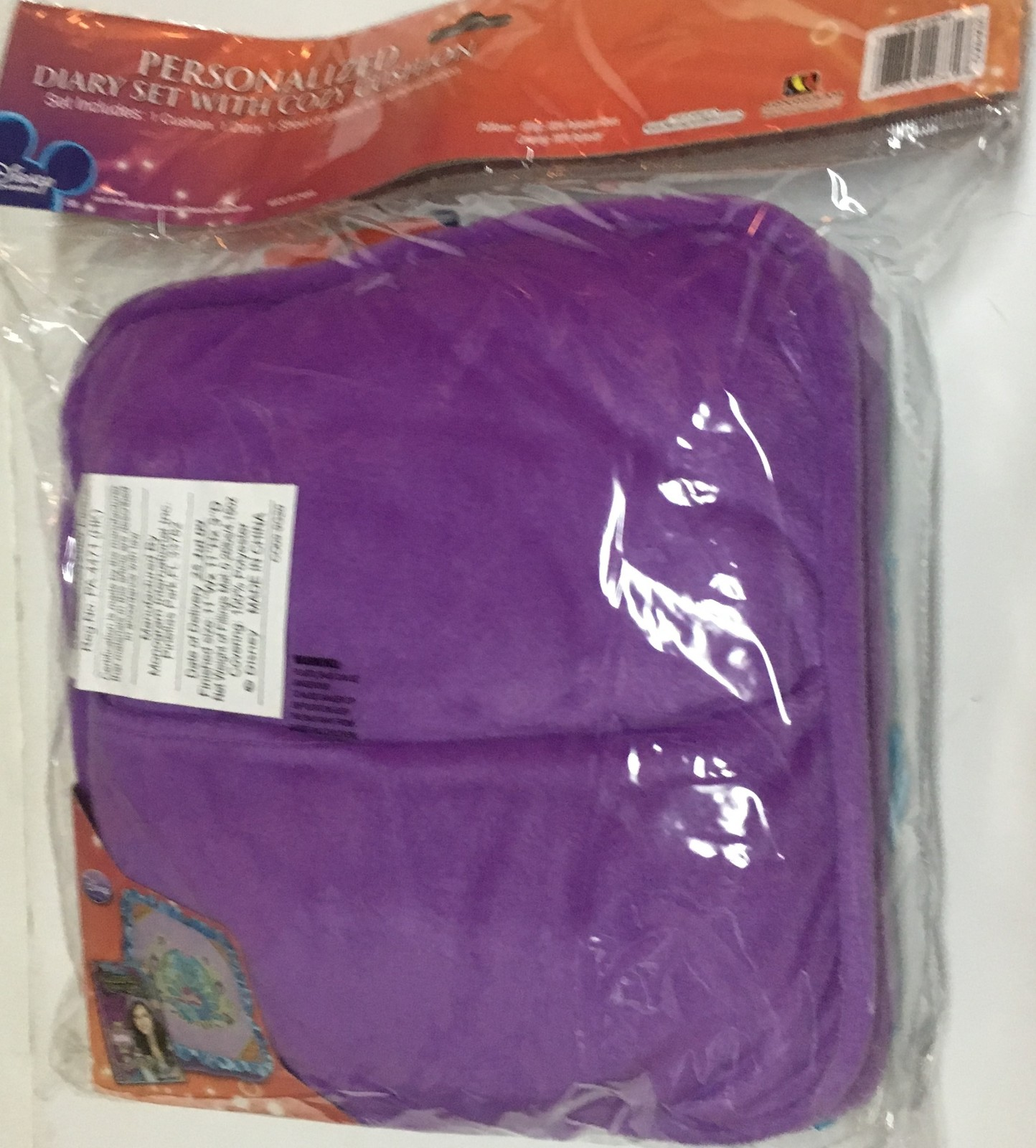 Wizards of Waverly Cushion Pillow & Diary Set Purple