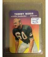 1970 Topps Glossy Inserts #1 Tommy Nobis  : Atlanta Falcons - A - $5.65