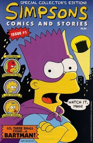 Simpsons Comics and Stories #1 [Comic] [Jan 01, 1993] Cindy Vance and Steve Vanc