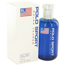 Ralph Lauren Polo Sport Cologne 4.2 Oz Eau De Toilette Spray image 1