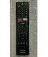 OEM Sony XBR-65X850D 55X850D XBR-65X800D REMOTE CONTROL RMF-TX200U W/Voi... - $34.55