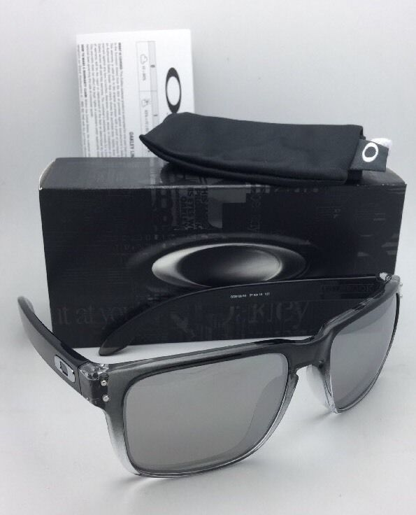 Polarized Oakley Sunglasses HOLBROOK OO9102-A9 Dark Ink Fade w/ Chrome Iridium