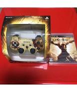 PS3 DUALSHOCK3 God of War Ascension Wireress Controler & soft Playstation3 - $159.35