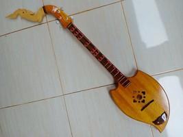 100% Thai Isaan Phin mandolin folk musical instrument,Teak, wonderful so... - $133.65