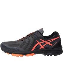 Asics Mens Gel Fuji attack 5 Trail Running Shoes Grey/Charcoal - $140.22