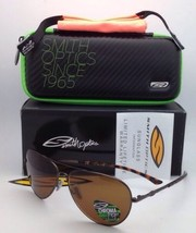 Nuovo Polarizzato Smith Optics Occhiali da Sole Audible Brown W/Chromapop Lenti