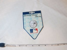 MLB LA Dodgers Baseball shape pin Sonoma pins NOS 80MB075 Los Angeles lapel hat - $16.06