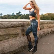 Women's 2 Piece Yoga Suit Workout Sports Bra and Leggings Athletic Fitness Track image 9