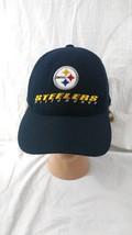 Pittsburgh Steelers Baseball Cap Black Snapback Hat NFL Football - $9.89