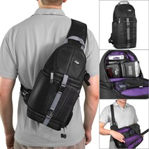 Sling Backpack for Photo Camera DSLR Mirrorless Cameras Canon Nikon Sony - $44.43