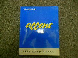 1999 Hyundai Accent Service Reparatur Shop V2 Motor Body Elektrisch Heiz... - $46.49