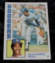 Alejandro Pena, Dodgers,  1984  #324 Topps Baseball Card GD COND - $0.99