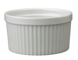 (Pack of 2) HIC Porcelain Souffle Ramekin, 14 oz. (98009) - NEW - $29.99
