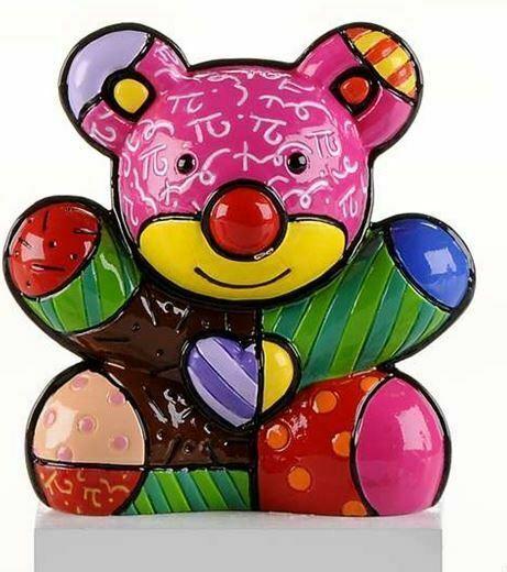 Romero Britto Mini Bear Figurine  #331841