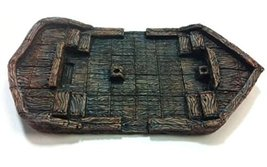 Pre Painted Terrain Dungeos Accessories Boat, Large (5''x9'')