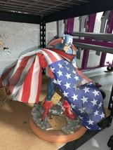 Marvel Captain America 9/11 Tribute Statue Diamond Select Toys - $305.00