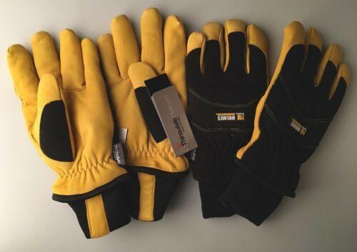 NEW Mike Holmes Workwear Goatskin 3M Thinsulate Winter Gloves M,L,XL NWT