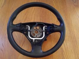 2004 Audi TT Steering Wheel 8E0124B Black Leather 3-Spoke - $99.99