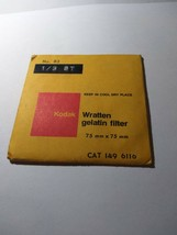 Kodak Wratten Gelatin Filter NO. 82 75x75mm 1496116 * - $10.99