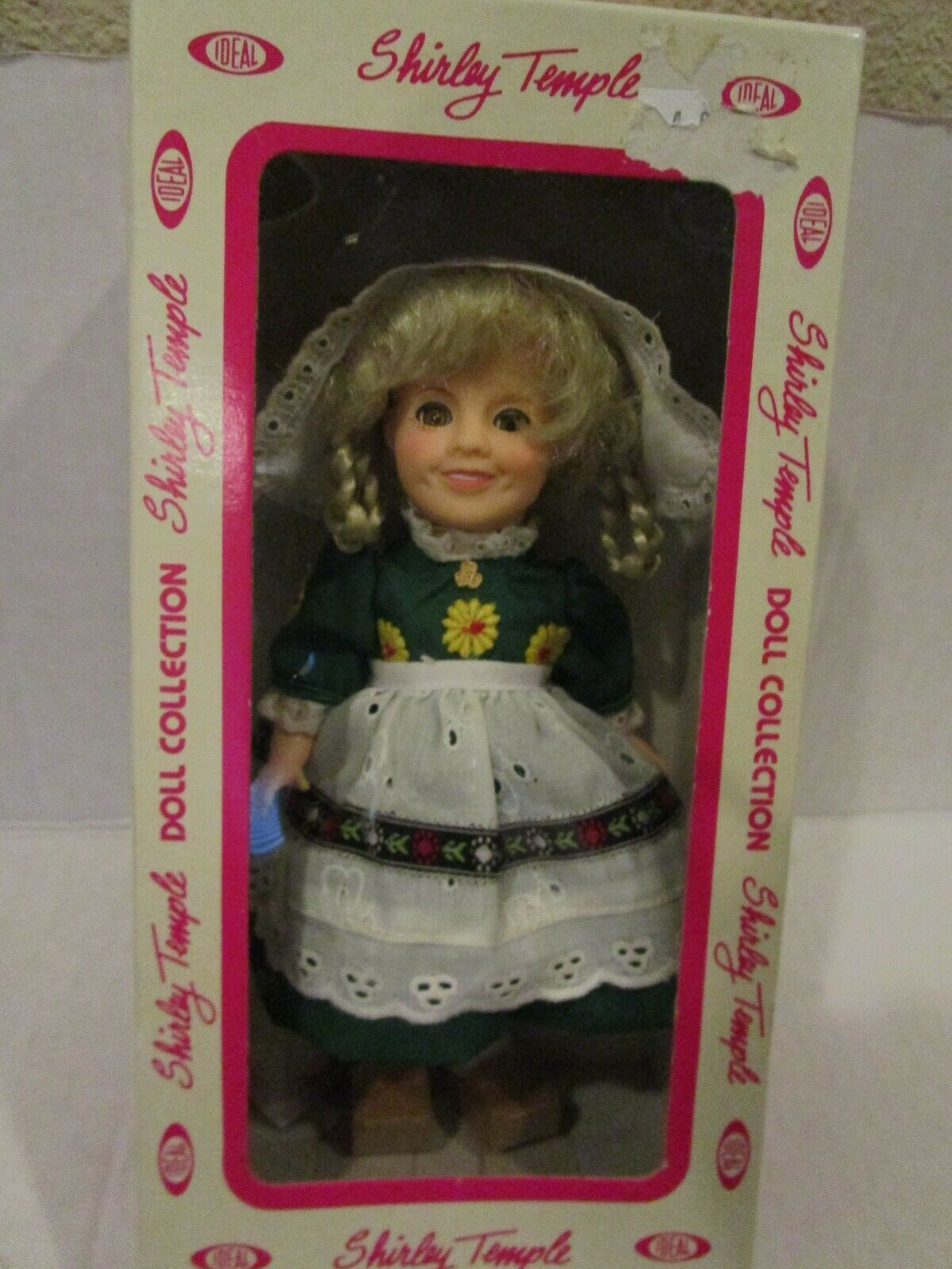 "Primary image for Vintage 8"" Shirley Temple Doll by Ideal 1982 ""Heidi"" New in Box"
