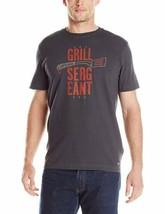 Medium Life is Good Shirt Men's Crusher Grill Sergeant Tee T-Shirt NEW