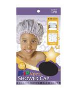 Qfitt Kid Vinyl Shower Cap Comfortable Elastic Band Waterproof #546 Asso... - $5.45