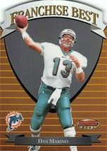 1996 Bowman Dan Marino Best Franchise Best #FB1 Miami Dolphins Hof Mint - $5.68