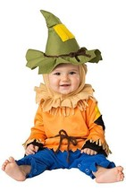 Incharacter Silly Scarecrow Wizard Of Oz Infant Baby Halloween Costume 1... - $24.64