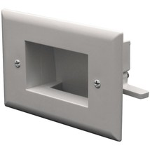 DataComm Electronics 45-0009-WH Easy-Mount Slim-Fit Recessed Low-Voltage Cable P - $19.73