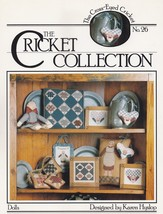 Dolls, The Cross-Eyed Cricket Cross Stitch Sampler Pattern Booklet No 26 - $3.95