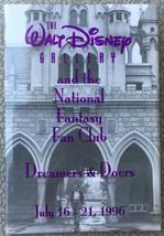 1996 The Walt Disney Gallery National Fantasy Fan Club Collectors Pinback - New - $10.95