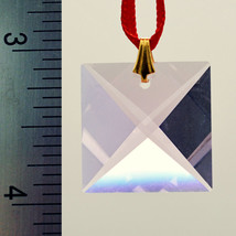 Swarovski Crystal 22mm Square Prism - Rosaline image 2
