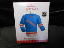 "Hallmark Keepsake ""New York Rangers Jersey"" 2018 Ornament NEW - $11.58"