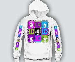"""1D Small Faces """"3Prints"""" Unisex Hooded Sweatshirt Funny and Music - $33.60+"""