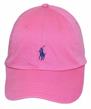 New Polo Ralph Lauren Mens Twill Signature Ball Cap, Maui Pink One size - €34,50 EUR