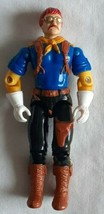 G.I. JOE ARAH Wild Bill Action Figure 1992 Hasbro Vintage Black Pants - $7.07
