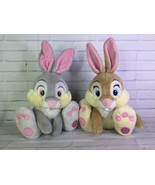 Disney Store Bambi Thumper Miss Bunny 14in Plush Stuffed Animals Rabbit ... - $32.71